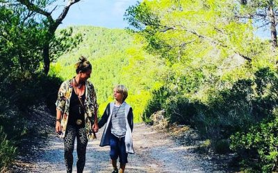 Single mom in the mountains of Ibiza